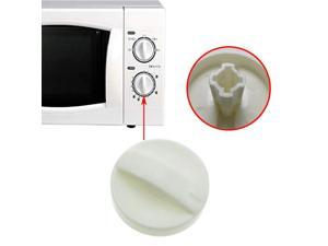 1PCS Cross Hole Microwave Oven Universal Rotary Timer Knob for Selecline Fagor Galanz Midea Delonghi Spare Parts