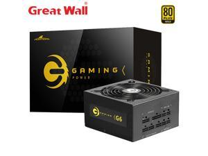 Great Wall G6 Power Supply 650W PSU ATX 12V Computer Power Supplies for PC 14cm Mute Fan E-sport 80PLUS GOLD PC Power Supply