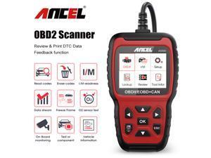 ANCEL AS500 Car Diagnosis Tool Multilingual Engine Code Reader OBD 2 Automotive Scanner Full OBD II Function Auto Car Scanner