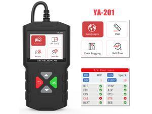EDIAG YA201 Code Reader USB Upgrade OBDII Scanner Tools for 12V Cars