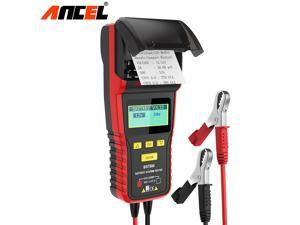 Ancel BST500 12V/24V Auto Battery Load Tester Car Cranking and Charging System Analyzer Scan Tool for Heavy Duty Trucks