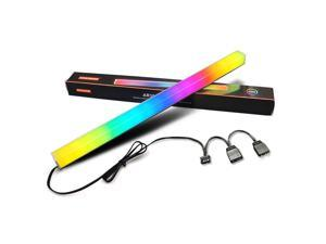 Coolmoon D-LHJ30 Small 4Pin 300mm Light Strip RGB LED Color Atmosphere Lamp for PC Case Fan