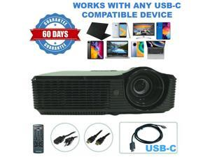 Acer X1220H DLP Projector HDMI - Professional Streaming bundle USB-C