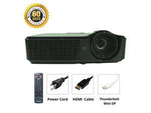 Thunderbolt Mini DP Bundle - Acer X1220H DLP Projector Portable HD 1080p Cinema