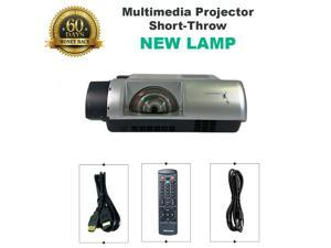 NEW LAMP -   Promethean PRM-30A LCD Projector Short-Throw w/bundle