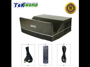 SMART UX80 DLP Projector Ultra Short Throw 3600 Lumens Professional Streaming  1080i 1280x800 HDMI w/Accessories bundle
