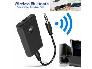 Bluetooth 5.0 transmitter Bluetooth audio transceiver receiver transmitter 2-in-1 computer TV speaker adapter is suitable for TV/home audio system/car