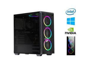 Custom ASUS Gaming Pc (Intel i5-10400F/1TB HDD/256GB SSD/16GB RAM/GeForce GT 1030)