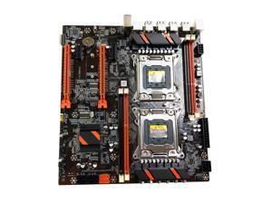 X79 Desktop Motherboard Dual CPU Desktop PC Motherboard LGA 2011 16 USB Ports DDR3 SATA PCIE X16 PUBG Gaming Mainboard