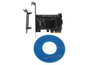 PCI Express 9230 Chipset Raid Card 4Port SATA 3.0 Add On Card Compliant with PCI-E Specification Revision 2.2 for PC Y8AC