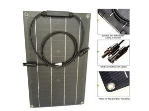 The  20w  flexible  panel is flexible and convenient.
