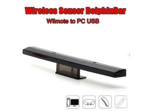 Wireless Sensor dolphin-bar Bluetooth Connect Remote PC Mouse for Wii game controller to PC