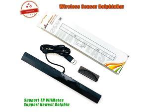 Hot Sales ! For Mayflash W010 Wireless Sensor DolphinBar Bluetooth Connect For Wii Remote Plus and PC Support G-sensor Function