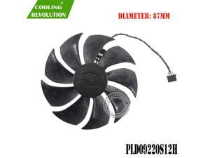 87MM PLD09220S12H DC12V 0.55A 4Pin graphics fan for EVGA RTX 2060 XC GAMING