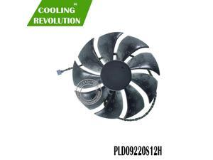 PLD09220S12H DC12V 0.55A 4PIN Graphics card fan for EVGA RTX 2080 2080ti FTW3