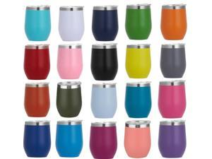 12oz egg cup 360ML Vacuum Cup  Wine Glass 12oz Stainless Steel Double Insulated Tumbler Coffee Drinking Bottle