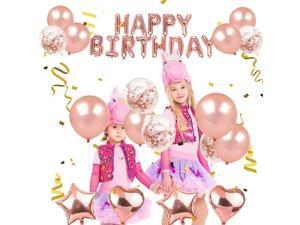 Kids Happy Birthday Balloon Suit Boys and Girls Party Ballons Decoration Birthday Supplies Latex Balloons Set Selling