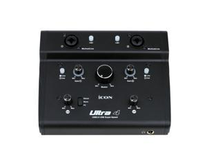 ICON Ultra 4  3.0 audio interface external sound card 2-In/2-Out  Recording Interface with 48v phantom power
