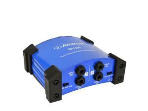 Alctron DI-120 DI Direct Box  Arrive Passive Stereo DI Direct Box 2 Channels Alctron DI120
