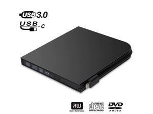Drive Slim Type C+Bluray Burner BD-RE CD/ RW Writer Play Disc  Laptop Notebook PC ACER