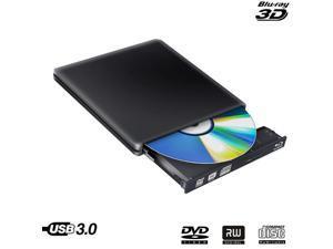 Drive Slim Bluray Burner BD-RE CD/ RW Writer Play Disc  Laptop Notebook Netbook