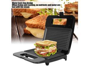 750W  Grill Barbecue Machine Double Sided Heating Multifunctional Panini Press Sandwich Maker Meat Baking Pancake Maker