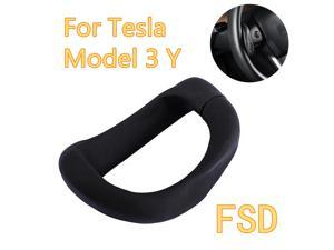 Model 3Y Steering Wheel Control Booster Counterweight Ring Automatic FSD Assisted Driving For Tesla Model 3 Y Free Your Hands