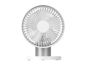 Clip-on Table Desktop  Fan 90 degree Rotatable 3 Modes Wind Speed Cooling Fan for Home  Outdoor Travel