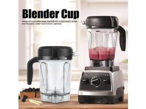 Blender Container Transparent Food Blender Container with Blade Lid Replacement Parts Fit for Container 64oz Paint