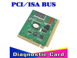 kebidumei AK PCI & ISA Motherboard Tester Diagnostics Display 4-Digit PC Computer Mother Board Debug Post Card Analyzer