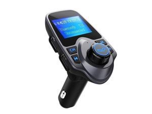 Bluetooth FM Transmitter Receiver Radio Adapter Car Kit With 5V 2.1A USB Car Charger MP3 Player Support TF Card USB Flash Drive