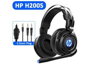 HP H200S Wired Stereo Gaming Headset with mic, for PS4, Xbox One, Nintendo Switch, PC, Mac, Laptop, Over Ear Headphones PS4 Headset Xbox One Headset and LED Light