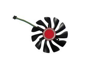 85MM Fan RX 460/550/560 GPU VGA Cooler Video Card Fan For Radeon XFX RX560 RX550 RX460 Graphics just can be as replacement