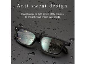 Non Bone Conduction Bluetooth Audio Smart Glasses Driving Sunglasses Eye Protection Blue Light Proof Smart Glasses Universal