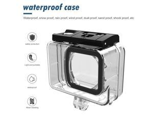 30m 98ft Waterproof Sport Camera Case Housing for SJCAM SJ10 Pro Underwater Diving Protective Cover Action Camera Accessories