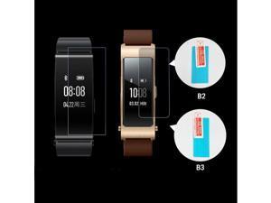2pcs Anti-shock Soft TPU Ultra Clear Protective Film For Huawei TalkBand Talk Band B3 B2 Smart Wristband Screen Protector Cover