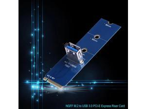M.2 To USB 3.0 Adapter PCI-E Express Riser Card NGFF BTC Mining Household Computer Parts for Bitcoin Miner Mining