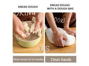 1PC Reusable Silicone Kitchen Dough Kneading Tool Bag Silicone Kneading Bag Dough Making Flour Mixer Bread Maker Kitchen Tools