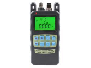 FTTH Optical Fiber Power Meter (-70~+10dBm)+10mw Visual Fault Locator all-in-one Machine Tool Kit VFL