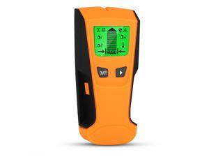3 in 1 Portable Stud Finder Metal Detector Wiring AC Live Wire Wall Handheld Scanner Finders with LCD Display