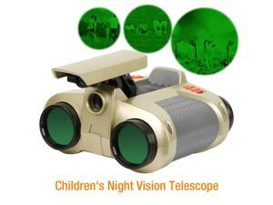 Night Vision Binoculars with Pop Up Light High Quality Binocular Outdoor Travel Hunting Camping, Gold