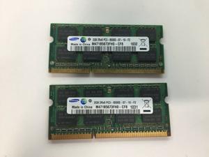 Samsung Genuine 4GB (2GB x 2) RAM KIT PC3-8500 2Rx8 M471B5673FHO-CF8