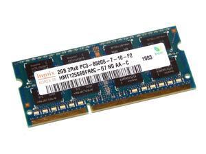 Hynix 4GB(2 X 2GB) RAM SO-DIMM, ddr3 SDRAM, ddr3-1066, pc3-8500s, cl9