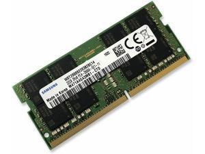 Samsung 64GB (2X32GB) DDR4 2666MHz Laptop Memory SODIMM Non-ECC 260pin 1.2V M471A4G43MB1-CTD