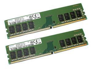 Samsung OEM 16GB (2X8GB) 1Rx8 PC4-2666V DDR4 RAM Memory Module M378A1K43CB2-CTD