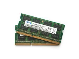 Samsung 4GB(2X2GB)  PC3-10600 SO-DIMM 1333 MHz DDR3 2RX8 SDRAM Memory M471B5673FH0-CH9
