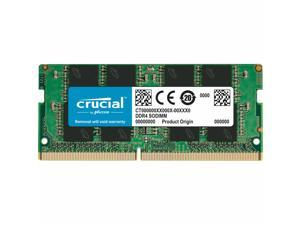 Crucial CT8G4SFRA266 8GB (DDR4, 2666 MT/s, PC4-21300, SODIMM, 260-Pin) Memory,