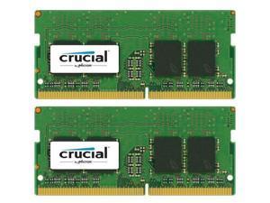 Crucial 32GB  (2X16GB) DDR4 2666 MHz PC4-21300 SODIMM 260-Pin Laptop Memory CT16G4SFD8266