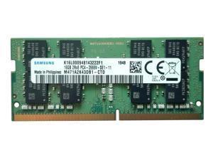 Samsung 16GB DDR4 PC4-21300, 2666MHZ, 260 PIN SODIMM 1.2V CL 19 laptop ram memory M471A2K43DB1-CTD