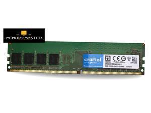 CRUCIAL 4GB (1x4GB) CT4G4DFS824A.M8FB PC4-19200 2400MHz UDIMM Desktop Memory Ram 1.2V